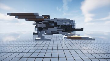 Semestryfall - space battleship | MFC | Minecraft Map & Project