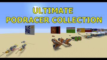 Ultimate Podracer Collection Minecraft Map & Project
