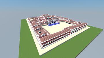 Baths of Barbara of Augusta Treverorum Minecraft Map & Project