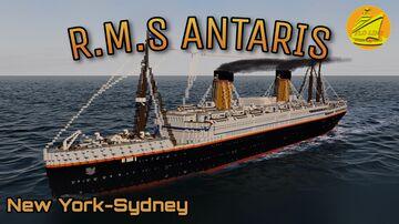 RMS ANTARIS (1913) [FULL INTERIOR] Minecraft Map & Project