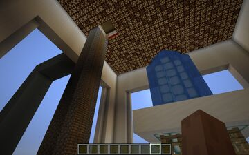 Ocean House Structure With automatic farm Minecraft Map & Project