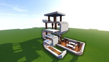 Modren house of 2020 Minecraft Map & Project
