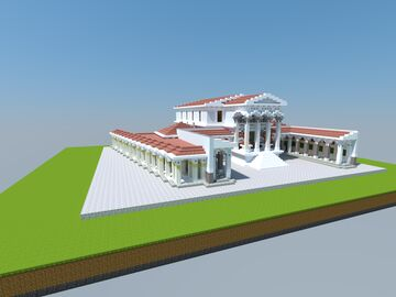 Byzantine Senate House Minecraft Map & Project