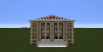 The Green Opera Theatre Minecraft Map & Project