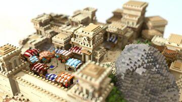 Hidden Market of The Dessert Minecraft Map & Project