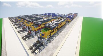 EMD SD40-2 Collection Minecraft Map & Project