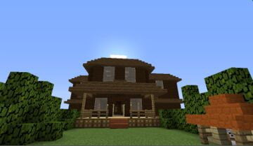 Mansion Of Pepi Minecraft Map & Project