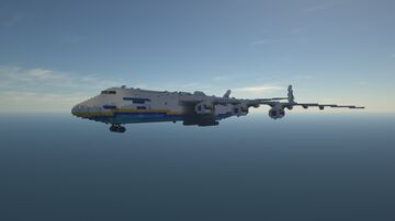 Antonov An-225 | 1.5:1 Scale | Full Interior | Download Minecraft Map & Project
