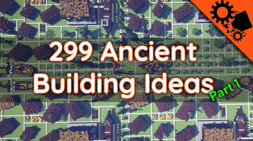 Ancient-Medieval building kit 299 Buildings [DOWNLOAD] part 1 Minecraft Map & Project