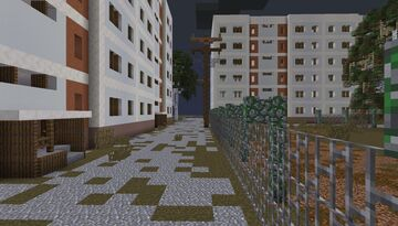Panel apartment Minecraft Map & Project