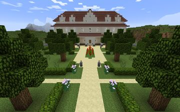 Palace Minecraft Map & Project