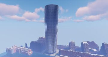 Baltimore Tower / Arena Tower London 1:1 Minecraft Map & Project