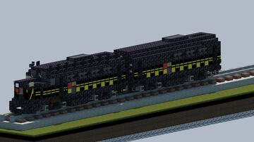 PRR Baldwin Sharknose locomotive [With Download] Minecraft Map & Project