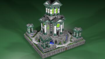 🏯 Green Factions - AliensBuilds 🏯 Minecraft Map & Project