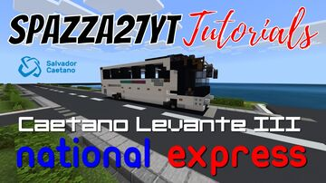 Caetano Levante III National Express Coach Minecraft Map & Project