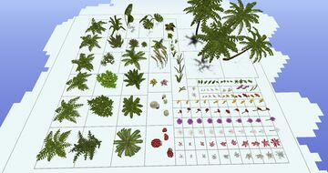 Plant Pack Minecraft Map & Project