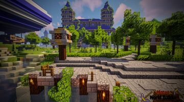 Castle - Inspired by Minecraft Maps Minecraft Map & Project