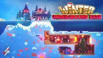 Winter Underground Base Minecraft Map & Project