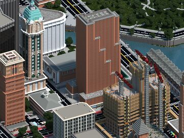 Tribune Tower | Mineopolis and the Countryside Minecraft Map & Project