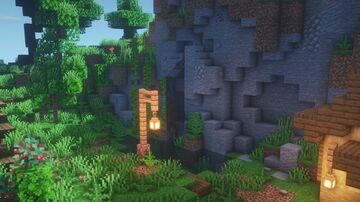 Minecraft : MOUNTAIN HOUSE   Minecraft Timelapse Minecraft Map & Project