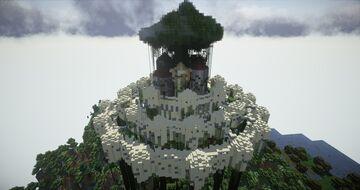 Laputa Castle in the sky Minecraft Map & Project