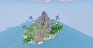 Minecraft | Tropical Island Free Map | 200x200 Minecraft Map & Project