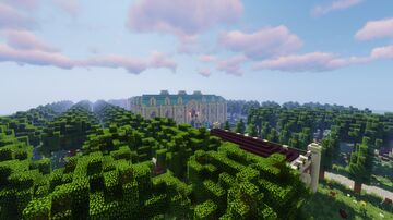 A Baroque Manor Minecraft Map & Project