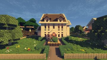 Riverside Manor With A Dock Minecraft Map & Project