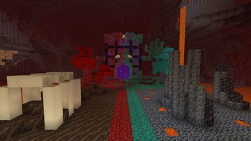 Living Nether Portal Minecraft Map & Project
