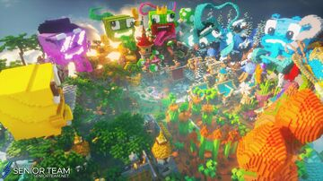 UnspeakableGaming Exclusive Lobby Minecraft Map & Project