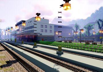 Karlovy Vary - Dolni nadrazi (part 1 of project railway KVJG 2020) Minecraft Map & Project