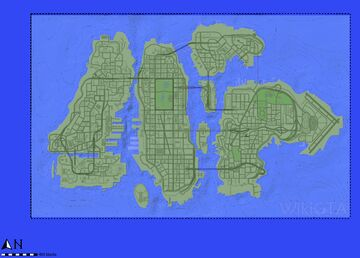 Grand Theft Auto IV 1:1 MAP on MINECRAFT Minecraft Map & Project