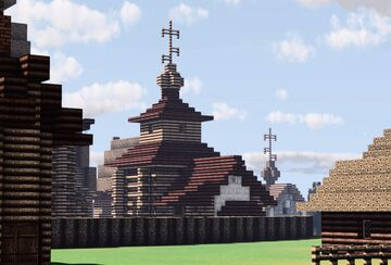 Kazanskaya Tserkov' (Kazan Church), Suzdal, Russia Minecraft Map & Project