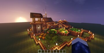 Survival base of 2020 Minecraft Map & Project