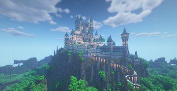 Celestial Castle (Medieval Castle) Minecraft Map & Project