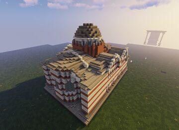 Medium Church Minecraft Map & Project