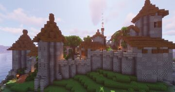 Paelford Keep Minecraft Map & Project