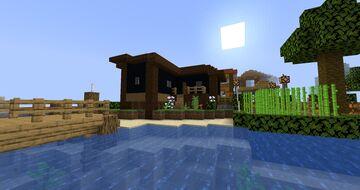 Beach House 3 Minecraft Map & Project