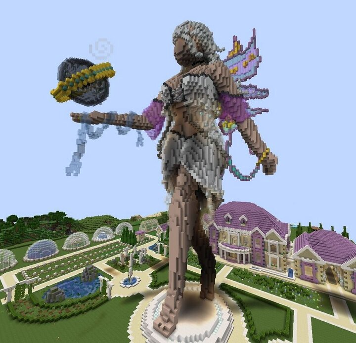 Popular Server Map : Enchanted Fairy Statue