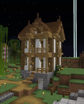 Little Tudor House Minecraft Map & Project