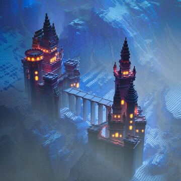 Glacier Citadel Minecraft Map & Project