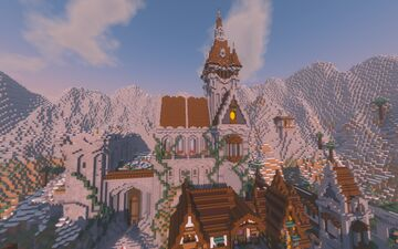 Castle of Torino Minecraft Map & Project