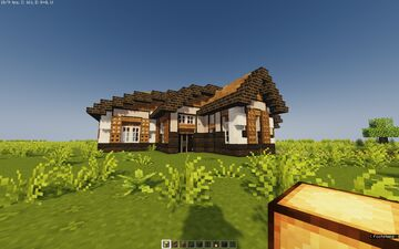 Model Home! (No Interior) - Put Your Twist! Minecraft Map & Project