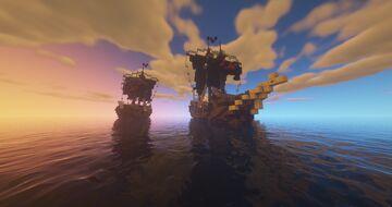 Targaryen fleet head ship Minecraft Map & Project