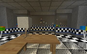 Five Nights at Freddy's Fan - Made Roleplaying map (READ DESC.) Minecraft Map & Project