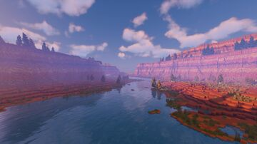 Canyon 1000x1000 Minecraft Map & Project