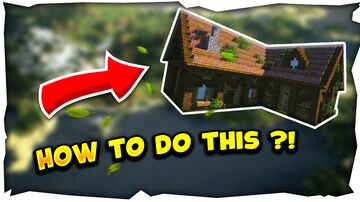 TUTO BUILD - Survival House + DOWNLOAD FREE ! Minecraft Map & Project