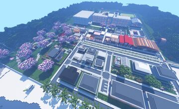 SUKAJARA   Japanese-Inspired Town Minecraft Map & Project