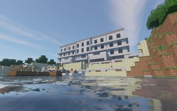 SullustanX Hotel Minecraft Map & Project