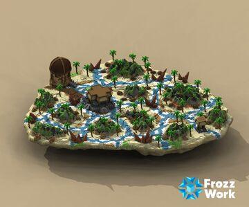 HCF End Custom Minecraft Map & Project